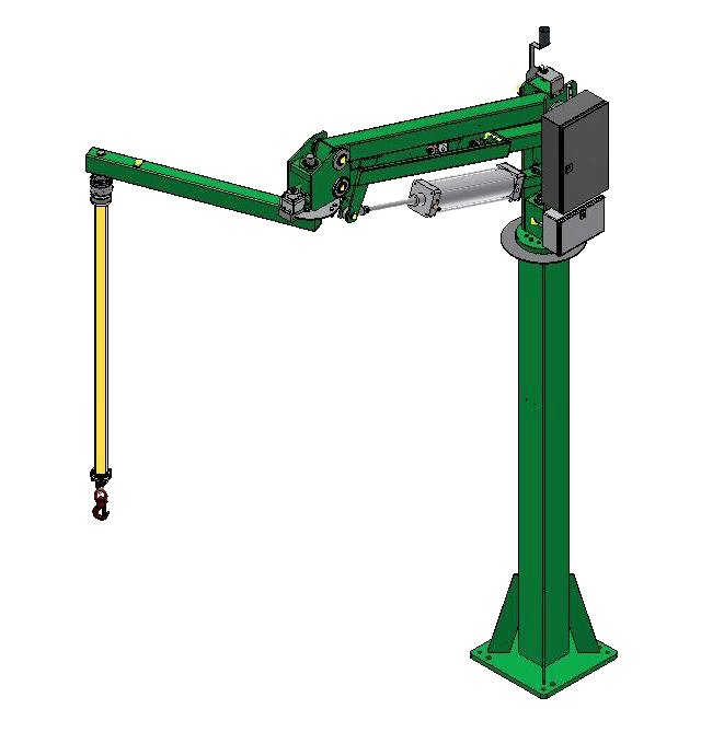 Liftronic Air - colonna+braccio