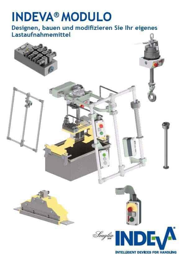 INDEVA® MODULO - Designen, bauen und modifizieren Sie Ihr eigenes Lastaufnahmemittel