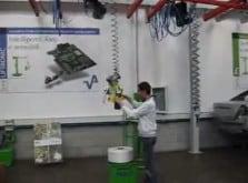 Manejo de bobinas por gravedad cero