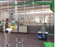 cloth roll handling equipment