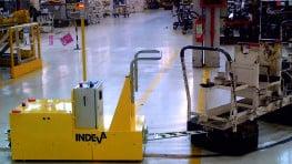 INDEVA Tugger AGV - automatic guided vehicles