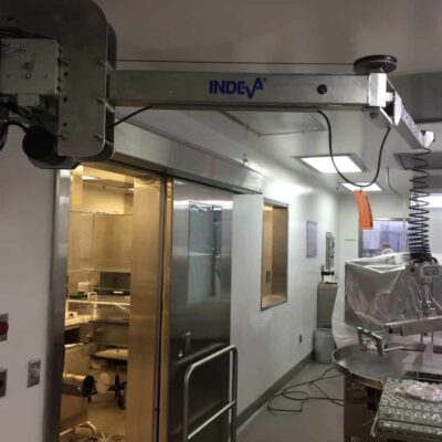 Pharmaceutic stainless steel lift assist device