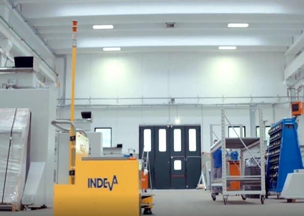 CMS choose AGV INDEVA for its plant