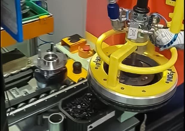 Movimentazione dischi freno
